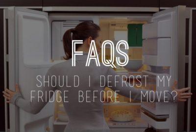 [香港搬家公司推薦] 您應該在移動冰箱之前除霜嗎?